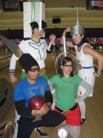 KlingStubbins brought their costume A-game to the 2008 Bowling Ball. Can you do better?