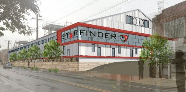 After making interior and site improvements, the crowning touch to Starfinder's facility would be a new metal clad exterior.