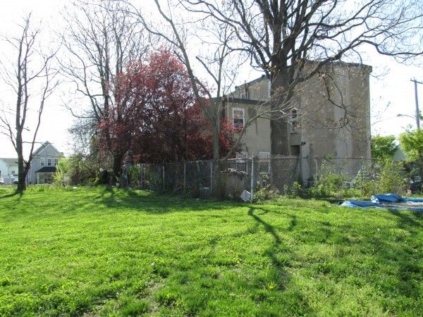A 1.8-acre parcel of vacant land at 8th and Berks is cleared and ready for reuse.